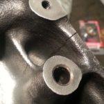 Ремонт трещин в алюминиевых изделиях
